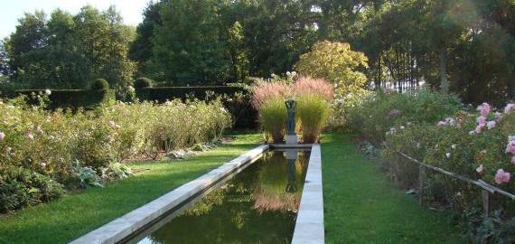 Bassin de la roseraie © Jardin de la Javelière