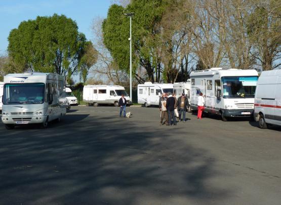 AIRE D'ACCUEIL DE CAMPING-CAR D'ANGERS