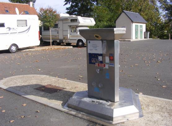 aire de service camping-car Vouvray - Tourinsoft