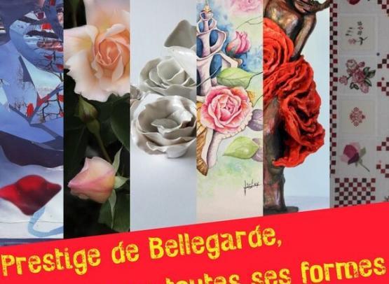 PRESTIGE DE BELLEGARDE : LA ROSE SOUS TOUTES SES FORMES