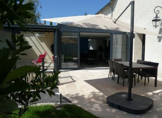 1-Gîte Cèdre et Charme - Terrasse 1