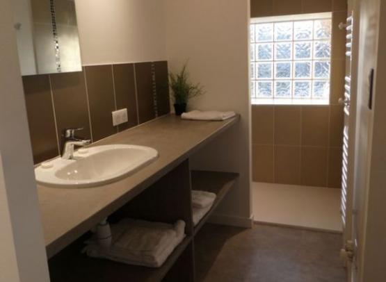 Gîte Cèdre et Charme - Salle de bain chambre Brune