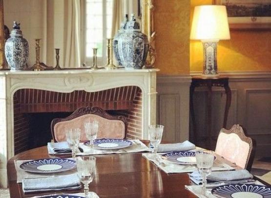 Manoir de Clairbois-Salle à manger