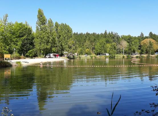 Nouveauté 2020 baignade naturelle au camping la Grande Sologne (Copier)