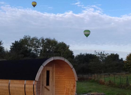 Sauna et montgolfières 3