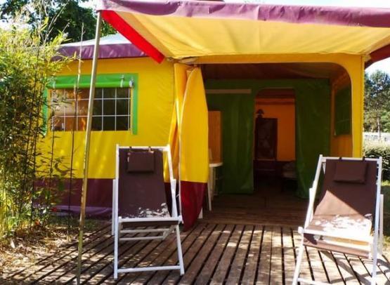 Camping le Jardin de Sully _ Bungalows