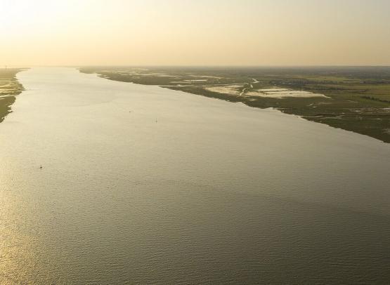 Estuaire - vue de Cordemais © Julien GAZEAU - Terre d'estuaire (2)