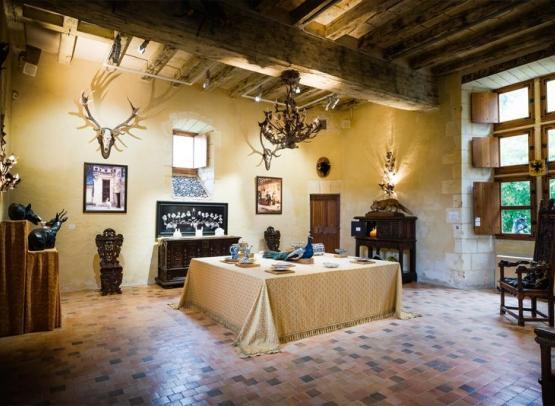 Chateau du Rivau - Salle festin Balthazar-Credit ADT Touraine JC CoutandREDI