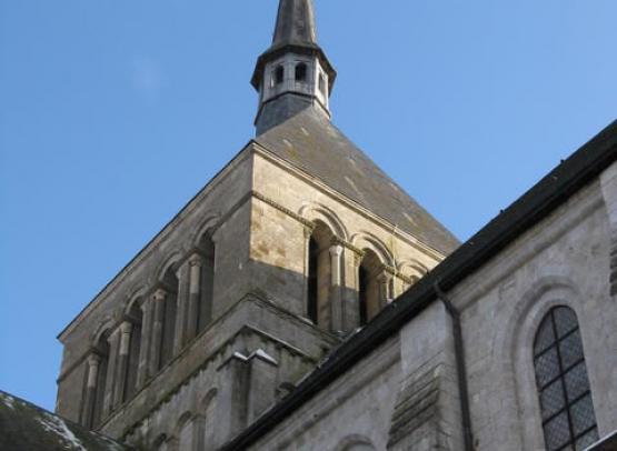 abbaye fleury clocher