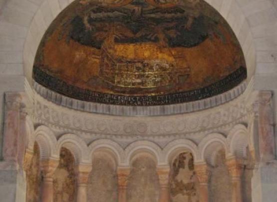 eglise de la tres sainte trinite arche sainte benie par la main de dieu vue d ensemble