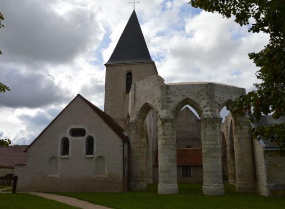 VISITE DU VILLAGE DE COURCELLES-LE-ROI