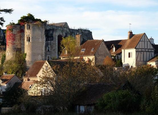 Les tours du châteaudeMontrésorVisitevillageMontrésor-loches-valdeloire