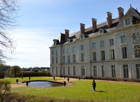 Chateau de Montgeoffroy - vue arrière.
