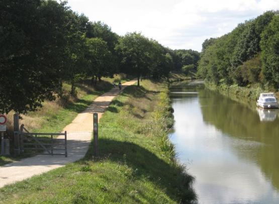 LE CANAL DE NANTES A BREST - DEPART NORT SUR ERDRE