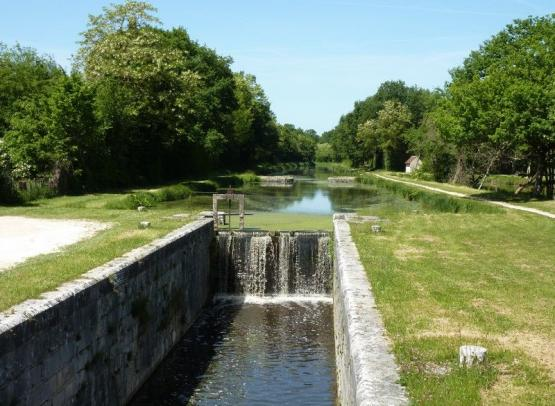 Canal Orleans point partage