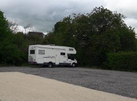 aire stationnement camping car - Gaec de Doucets - Beaulieu sur Loire 2017