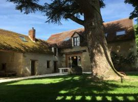 Exterieur L'ancienne poste Nouans-les-Fontaines-Loches Val de Loire