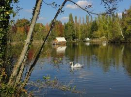 vue étang flotente