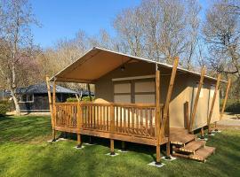 Lodge, camping les Granges Luynes