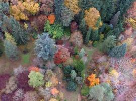 Arboretum vu du ciel