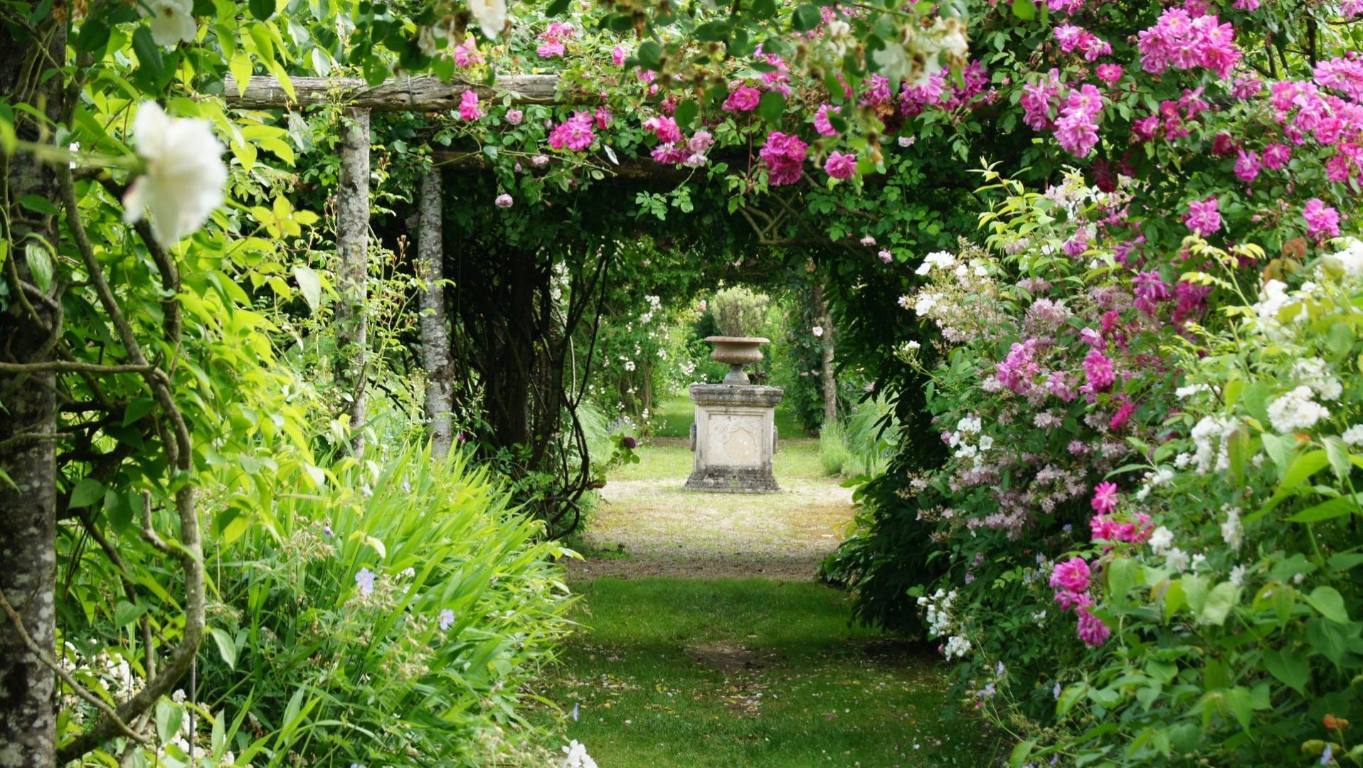 Jardines rom nticos valle del loira un viaje por francia for Jardines romanticos