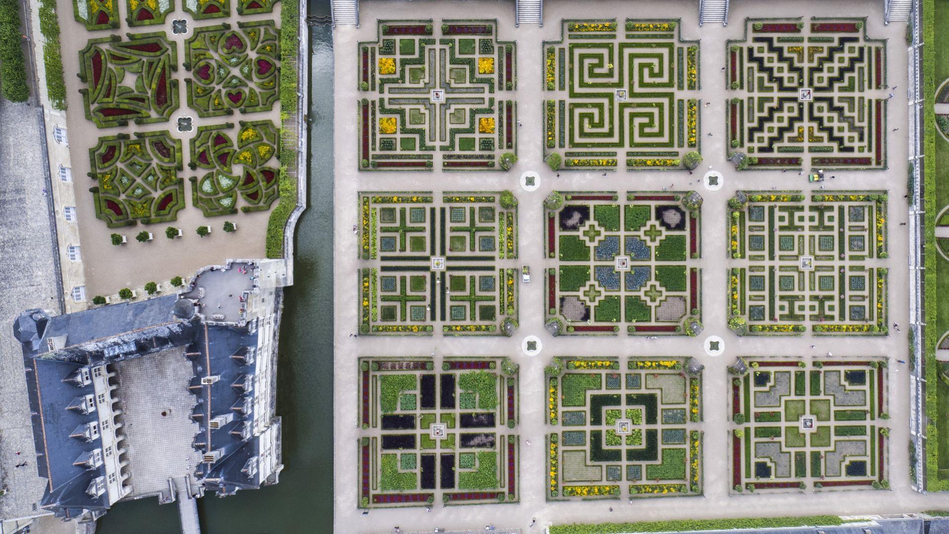 Resultado de imagen de jardin villandry